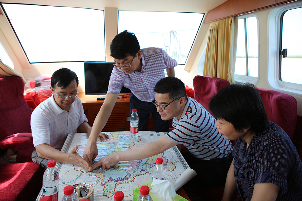 水利部三峡司来丹开展丹江口水库运行管理和移民安置工作专题调研